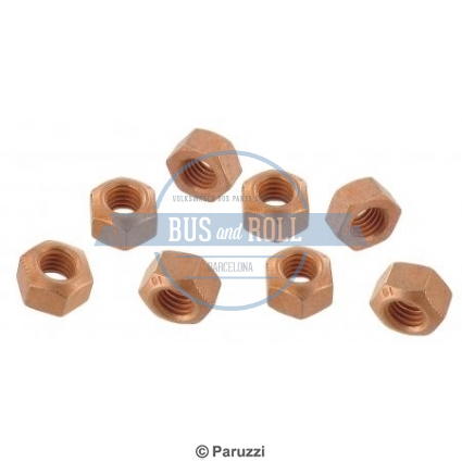 coppered-exhaust-nuts-8-pieces