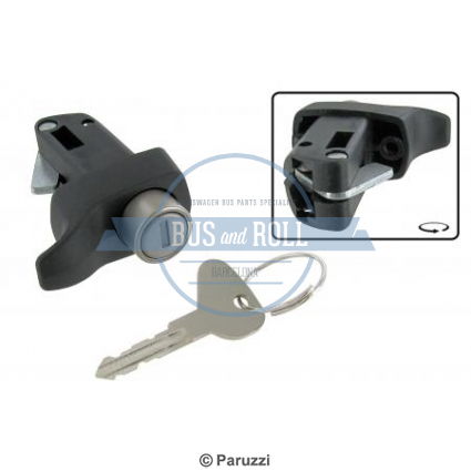 engine-lid-lock-with-keys-black
