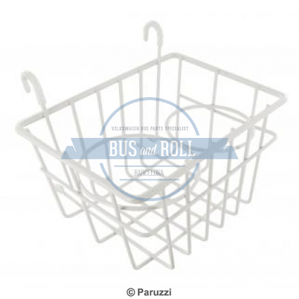 storage-basket-with-cup-holders-white
