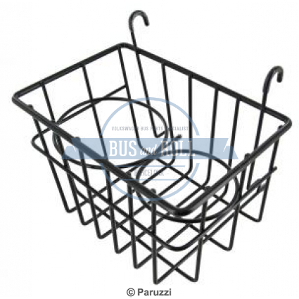 storage-basket-with-cup-holders-black