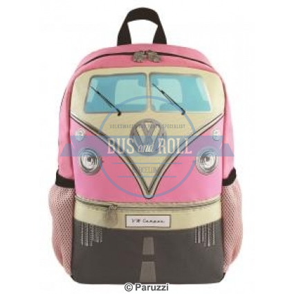 split-bus-childrens-backpack-pink